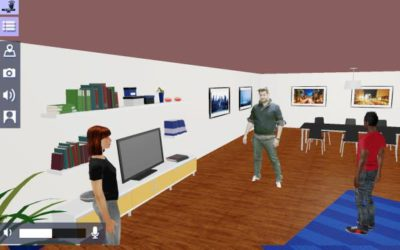 A Methodological Approach to User Evaluation and Assessment of a Virtual Environment Hangout