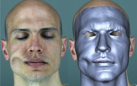 Anatomically-Constrained Local Deformation Model for Monocular Face Capture