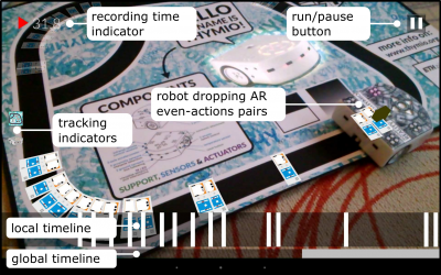 Enhancing Robot Programming With Visual Feedback and Augmented Reality