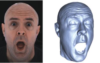 High-Quality Passive Facial Performance Capture using Anchor Frames