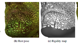 Real-time Variable Rigidity Texture Mapping