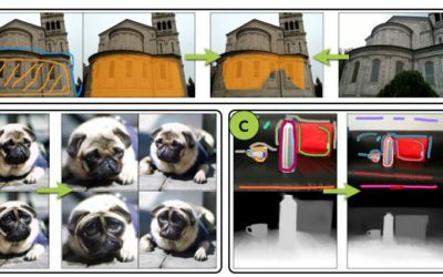 Transfusive Weights for Content-Aware Image Manipulation