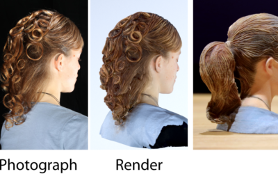 Capturing and Stylizing Hair for 3D Fabrication