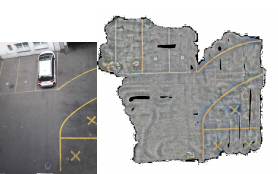 StreetMap – Mapping and Localization on Ground Planes using a Downward Facing Camera