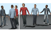 Walk the Talk: Coordinating Gesture with Locomotion for Conversational Characters