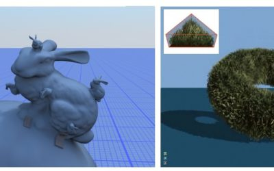 Survey of Texture Mapping Techniques for Representing and Rendering Volumetric Mesostructure
