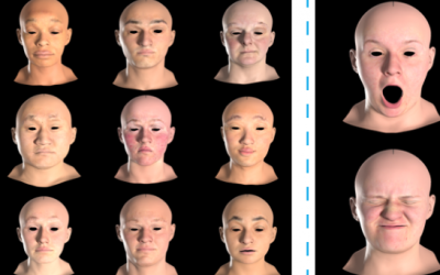 Semantic Deep Face Models