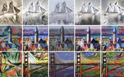 Adaptive Convolutions for Structure-Aware Style Transfer