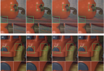 Robust Image Denoising using Kernel Predicting Networks