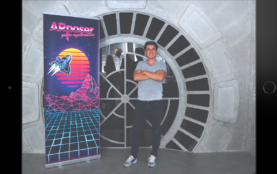 AR Poser: Automatically Augmenting Mobile Pictures with Digital Avatars Imitating Poses