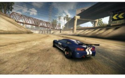 Simulated motion blur does not improve player experience in racing game