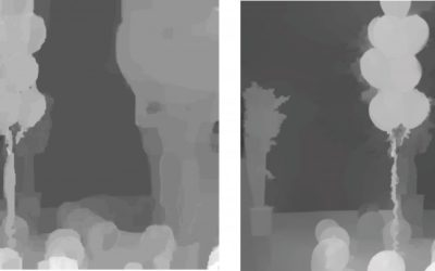 Depth Estimation and Depth Enhancement by Diffusion of Depth Features