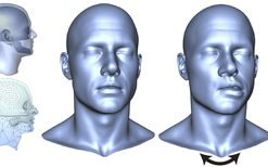 Enriching Facial Blendshape Rigs with Physical Simulation