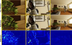 Real-time Rendering with Compressed Animated Light Fields
