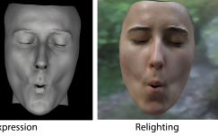 Practical Dynamic Facial Appearance Modeling and Acquisition